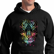 Dripping Neon Tiger Hoodie