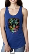 Dripping Neon Tiger Ladies Ideal Tank Top