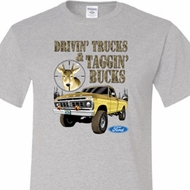 Driving and Tagging Bucks Mens Ford Shirts