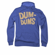 Dum Dums Hoodie Distressed Logo Royal Blue Sweatshirt Hoody
