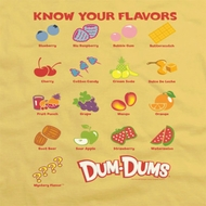 Dum Dums Know Your Flavor Shirts