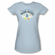 Dum Dums Shirt Juniors 2 Cents Light Blue T-Shirt