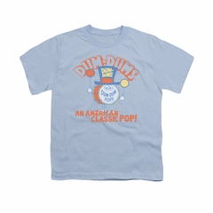 Dum Dums Shirt Kids Classic Pop Light Blue T-Shirt