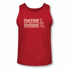 Dum Dums Shirt Tank Top Worlds Best Red Tanktop