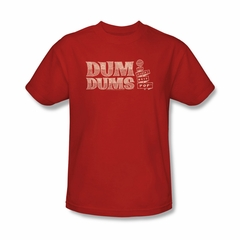 Dum Dums Shirt Worlds Best Red T-Shirt