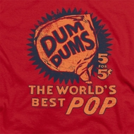 Dum Dums The Best Pop for 5 Cents Shirts