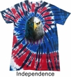 Eagle Stare Patriotic Tie Dye Shirt