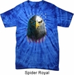 Eagle Stare Spider Tie Dye Shirt
