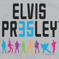 Elvis Presley 35 Colorful Shirts