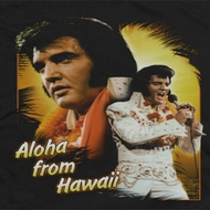 Elvis Presley Aloha Sing It Shirts