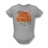 Elvis Presley Baby Romper Devil Athletic Heather Infant Babies Creeper