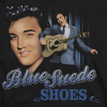 Ford Mustang Shoes >> Elvis Presley Blue Suede Shoes Shirts - Elvis Presley Shirts