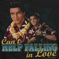 Elvis Presley Can't Help Falling Shirts