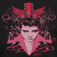 Elvis Presley Face It Pink Shirts