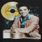 Elvis Presley Gold Record Shirts