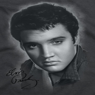 Elvis Presley Grey Portrait Shirts