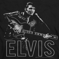 Elvis Presley Guitar In Hand Shirts