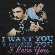 Elvis Presley I Want You Shirts