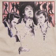 Elvis Presley In Concert Shirts