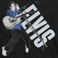 Elvis Presley On His Toes Shirts