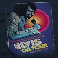 Elvis Presley On Tour Poster Shirts