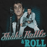 Elvis Presley Shake Rattle And Roll Shirts