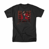 Elvis Presley Shirt 69 Anime Black T-Shirt