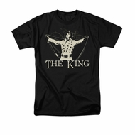 Elvis Presley Shirt Cape Black T-Shirt