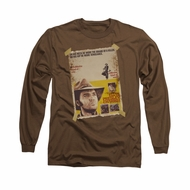 Elvis Presley Shirt Charro Long Sleeve Coffee Tee T-Shirt