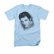 Elvis Presley Shirt Dreamy Light Blue T-Shirt