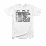 Elvis Presley Shirt Heartbreaker White T-Shirt