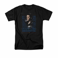 Elvis Presley Shirt Icon Black T-Shirt
