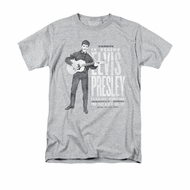 Elvis Presley Shirt In Person Athletic Heather T-Shirt
