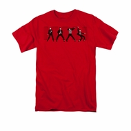 Elvis Presley Shirt Jailhouse Rock Red T-Shirt
