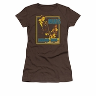 Elvis Presley Shirt Juniors Cryin All The Time Brown T-Shirt