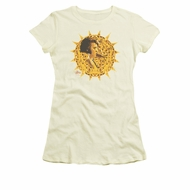 Elvis Presley Shirt Juniors Sundial White T-Shirt