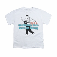 Elvis Presley Shirt Kids 50 Million Fans Plus 1 White T-Shirt