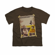 Elvis Presley Shirt Kids Charro Coffee T-Shirt