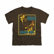 Elvis Presley Shirt Kids Cryin All The Time Brown T-Shirt