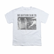 Elvis Presley Shirt Kids Heartbreaker White T-Shirt