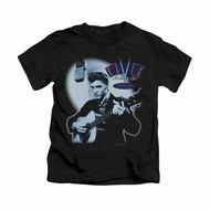 Elvis Presley Shirt Kids Hillbilly Cat Black T-Shirt