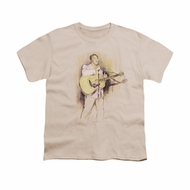 Elvis Presley Shirt Kids I Was The One Cream T-Shirt
