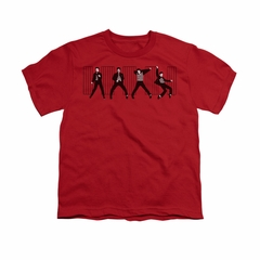 Elvis Presley Shirt Kids Jailhouse Rock Red T-Shirt
