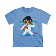 Elvis Presley Shirt Kids Jumpsuit Carolina Blue T-Shirt