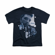 Elvis Presley Shirt Kids Play That Guitar Navy T-Shirt