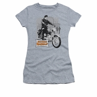 Elvis Presley Shirt Kids Roustabout Athletic Heather T-Shirt
