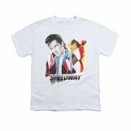 Elvis Presley Shirt Kids Speedway White T-Shirt