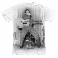 Elvis Presley Shirt On Your Toes Sublimation Shirt