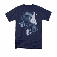 Elvis Presley Shirt Play That Guitar Navy T-Shirt