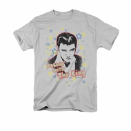 Elvis Presley Shirt Rockin With Silver T-Shirt